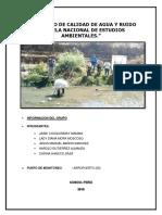 Informe de Campo Monitoreo Ambiental