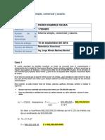 Lfg Pedro Interes Simple Comercial Exacto Docx