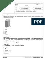 Resolucao Desafio 1serie EM Matematica 110519