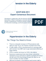 2011 Hypertension in the Elderly Slideset