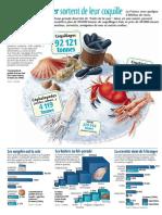 Infographie Carrefour - Les Fruits de Mer Sortent de Leur Coquille - Décembre 2001