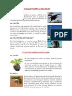 ANIMALES NATIVAS DEL PERU.docx
