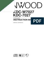 KDC-W7027