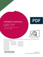 LG LED owner manual