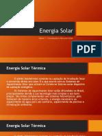 Introdução Energia Solar