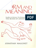 Form and Meaning_ Studies in Literary Techniques in the Book of Jonah