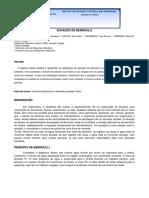 Resumo - Iniciação Científica - Equação de Bernoulli.docx