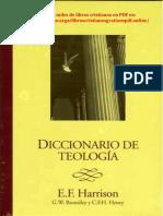 Diccionario de Teología - Everett