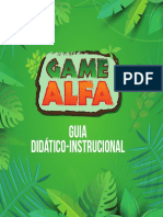 Livreto Game Alfa - Austonio Queiroz