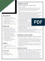 Lexi Belculfine resume