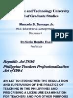 Philippine Teachers Professionalization Act of 1994.pptx