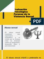 3- Evaluación Psicológica Forense DEL AGRESOR SEXUAL