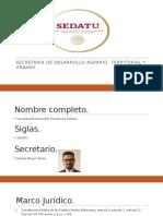 SEDATU (incompleto)