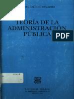 Teoria de La Administracion Publica