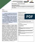 SD LP D20 Diferentes Formas de Tratar Uma Informação Gêneros Textuais Professor