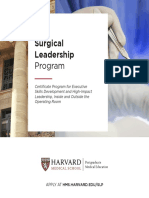 Harvard Surgical Leadership Program