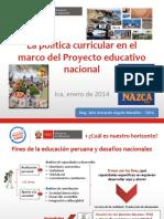 Sistema curricular 2014.pptx