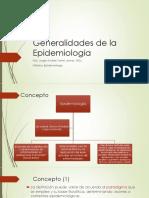 1. Epidemiología Generalidades
