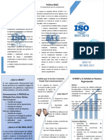 Tríptico ISO y BASC - Proxus