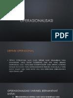 operasionalisasi