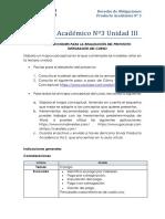 Producto Académico Nº 3 - Obligaciones