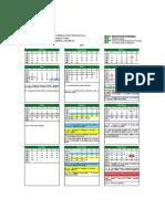 Calendário Turma 2017-2 - COMPLETO