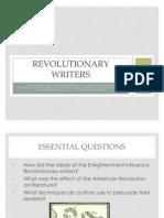 Revolutionary Writers