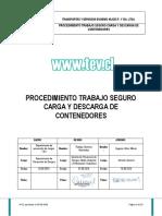 Procedimiento de Carga y Descarga de Contenedores (v-01)