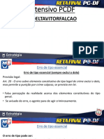 Reta Final PC-DF Direito Penal