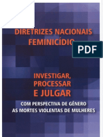 Diretrizes Feminicidio