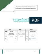 Procedimiento Acciones Correctivas y Preventivas