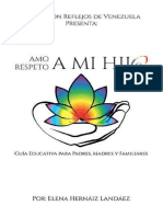Amo a mi hijo Spanish brochure for parents of LGBT youth