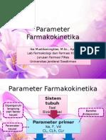 Parameter farmakokinetika