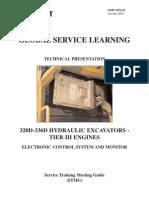 320D-336D Excavator Elec. Control Sys