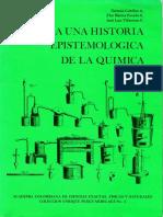 Hacia una historia de la epistemología quimica