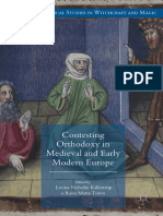 (Palgrave Historical Studies in Witchcraft and Magic) Louise Nyholm Kallestrup, Raisa Maria Toivo (eds.)-Contesting Orthodoxy in Medieval and Early Modern Europe_ Heresy, Magic and Witchcraft-Palgrave.pdf