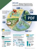 Infographie Carrefour - Nos Rivages Ont La Cote - Juillet Août 2001