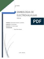simbologia de electrovalvulas