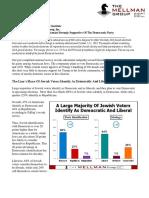 Jewish Voting Statistics United States