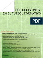 toma de decisiones en futbol