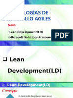 Metodologias de Desarrollo Agiles