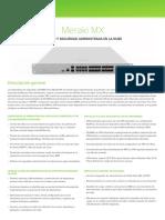 Cisco Meraki Reference MX