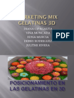 Marketing Mix Gelatinas Final -Edna