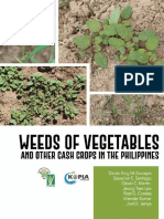 Weeds of Vegetables and Other Cash Crops in the Philippines