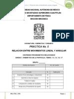 p05 Relacion Entre Movimientos Lineal y Angular