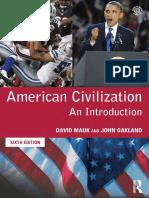 American Civilization - Indice, uned