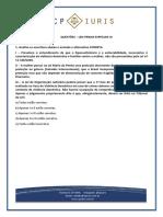 Questoes - CP Iuris - Leis Penais Especiais III