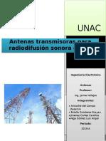 Antenas Para Radiodifusión Sonora en Fm
