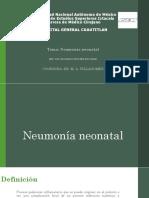 Neumonia Neonatal