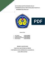 Makalah Akuntansi Hibah Pemerintah Dan Pengungkapan Bantuan Pemerintah (PSAK 61)
